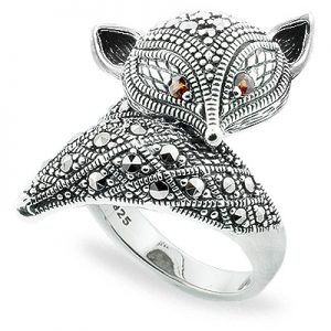 Why is Silver Marcasite rings popular ?001