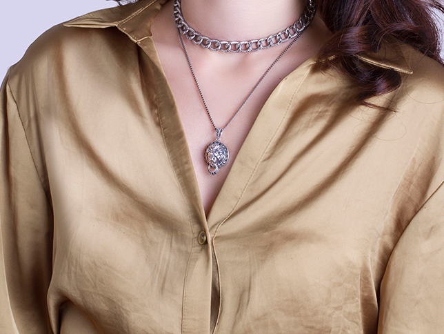 Layer Up The marcasite necklace