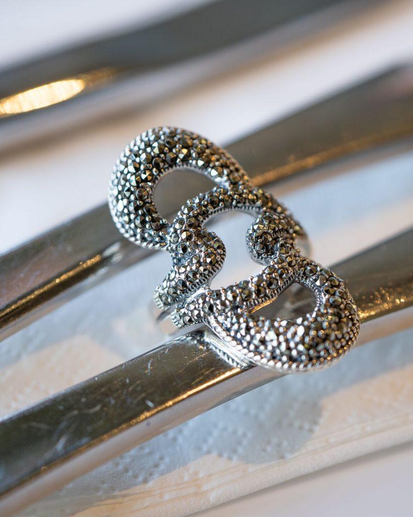 marcasite rings