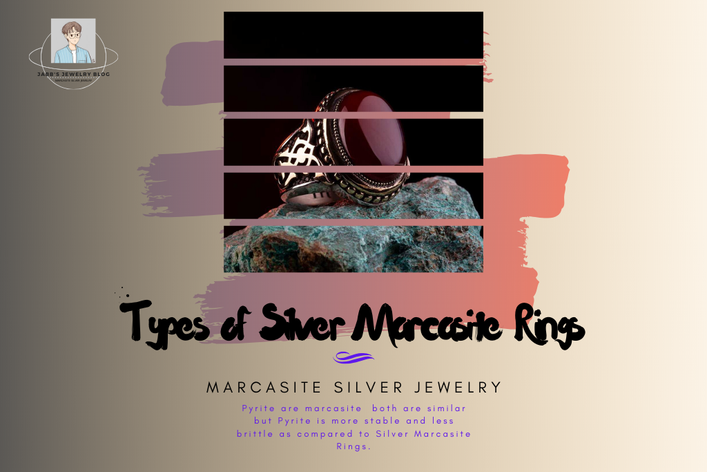 Types of Silver Marcasite Rings