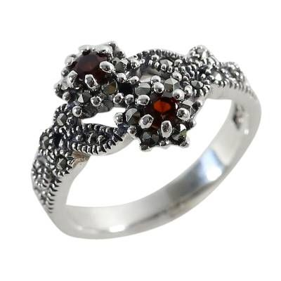 Silver Marcasite Rings