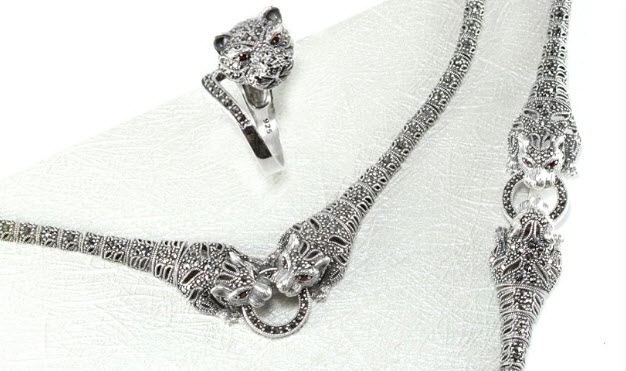 How to Vintage Style Marcasite Jewelery