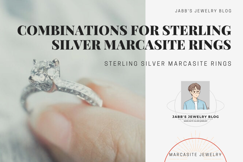 Combinations For Sterling Silver Marcasite Rings