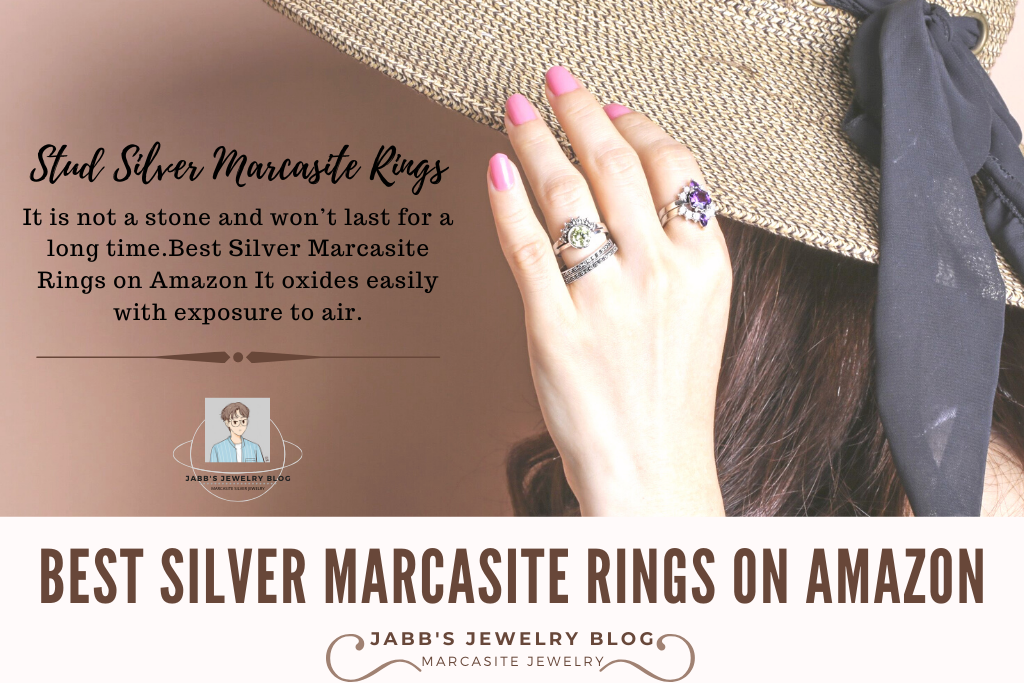 Best Silver Marcasite Rings on Amazon