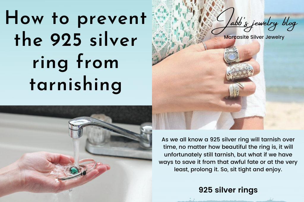 How to prevent the 925 silver ring from tarnishing