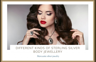 DIFFERENT KINDS OF STERLING SILVER BODY JEWELLERY