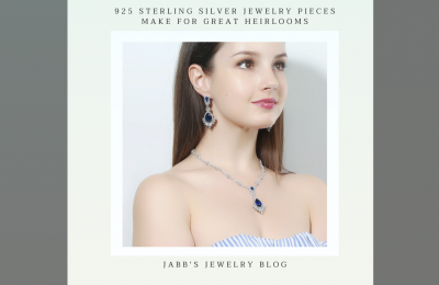 Introducing a piece of 925 sterling silver jewelry, made for a grand succession.
